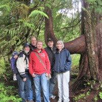 Family photos on Ketchikan Rainforest Tour