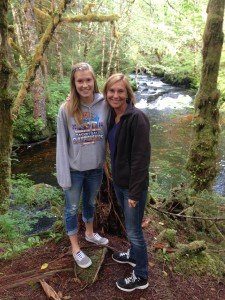 Tracy your Ketchikan Tour Guide with daughter Alexis