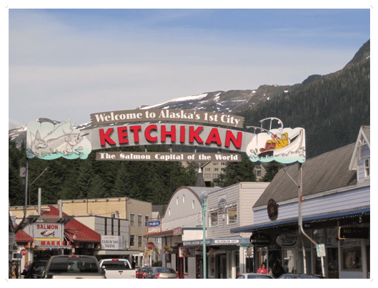 welcome-to-ketchikan-alaska. Take a Ketchikan Tour with Wild Wolf Ketchikan Tours