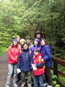 Family Fun on Nature Trail on Ketchikan Rainforest Tour