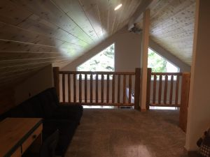 Vacation Rental Cabin Loft