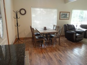 Ketchikan Vacation Rental Dining Room